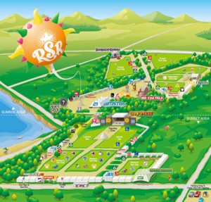 RSR2006 / Festival Map