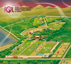 RSR2007 / Festival Map