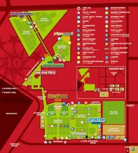 RSR2008 / Festival Map