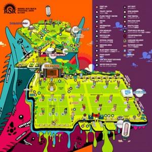 RSR2009 / Festival Map