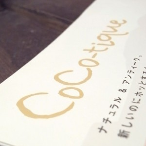 Coco-tique / Logo & Pamphlet