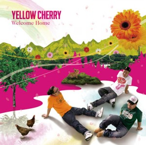 "Yellow Cherry ""Welcome Home"" / CD Jacket"