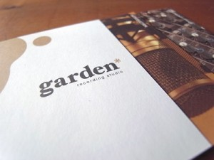Recording Studio Garden / Logo & Pamphlet