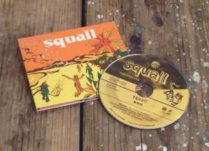 """髭楽団 """"squall"""" / CD Jacket"""