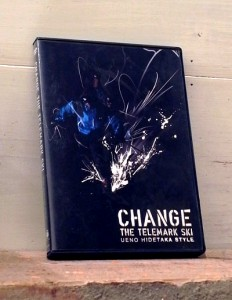 "Ueno Hidetaka ""Change the telemark ski"" / DVD Jacket"