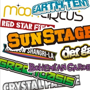 RISING SUN ROCK FESTIVAL in EZO / Stage Logo