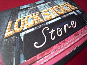 LOCK STOCK STORE / Logo, Flyer & Poster