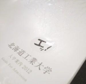 北海道工業大学 2012 / Pamphlet