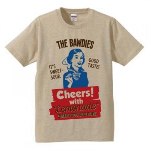 """THE BAWDIES / Official T-shirt """"GREET THE NEW YEAR 2012 to 2013 T-SHIRTS"""""""