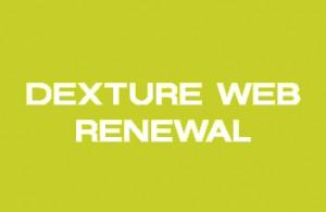 DEXTURE WEB RENEWAL!!