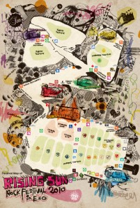 RSR2010 / Festival Map