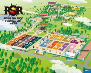 RSR2011 / Festival Map