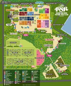 RSR2012 / Festival Map